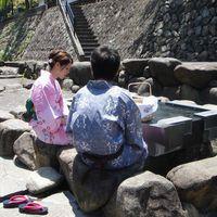 【山村別館】*カップル限定*1泊2食で温泉満喫◎女性は選べる色浴衣を無料で貸出☆2人の思い出作りに♪