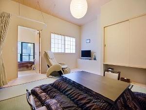 【1室限定】檜露天風呂・陶器展望風呂付