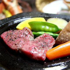 【能登牛ステーキ】1人☆150g♪やっぱりお肉!じゅわっと口にとろけるっ。。