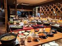 【国産牛陶板焼付】郷土料理ビュッフェ(バイキング形式)に人気の牛陶板焼が付いて料理グレードアップ♪