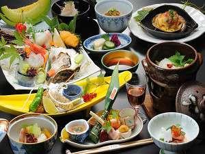 ☆スタンダードスタイル☆ 日本海を丸ごと楽しむきららか会席1泊2食プラン