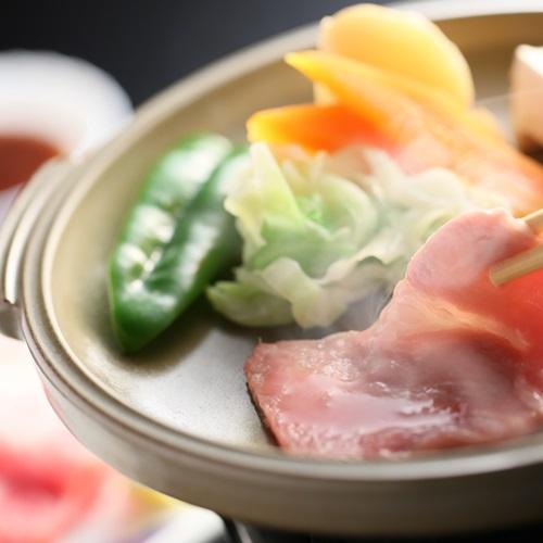 【スタンダード会席】≪美白の湯≫を満喫♪産地・味にこだわった豚会席◆ご夕食は安心の【個室/お部屋食】