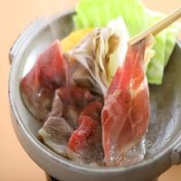4月〜10月限定★猪肉の陶板焼き≪特製味噌だれ≫