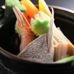 海鮮会席◆期間限定/4〜10月◆海山川の幸を堪能*朝食後は嬉しいコーヒーサービス付