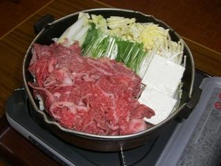 信州牛のすき焼きプラン