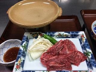 信州牛の陶板焼きプラン