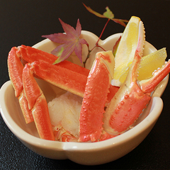 カニ料理付き!!ズワイ蟹を使用したお料理が3品付いてお得な【基本の蟹懐石】