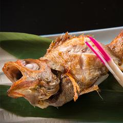 高級魚「のど黒」塩焼き付きプラン