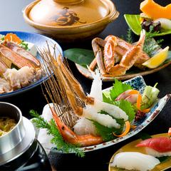 【冬春旅セール】3月末まで!かに鍋・鉄板焼き♪イチオシ☆蟹のフルコース