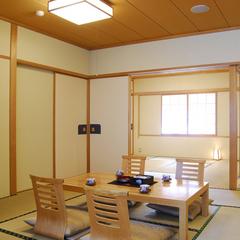 【和室タイプ】和室10畳+和室8畳・バストイレ付禁煙室