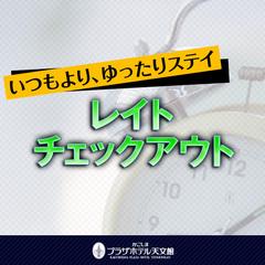 朝10時チェックイン&翌12時チェックアウトOK!最長26時間ロングステイシングルプラン☆