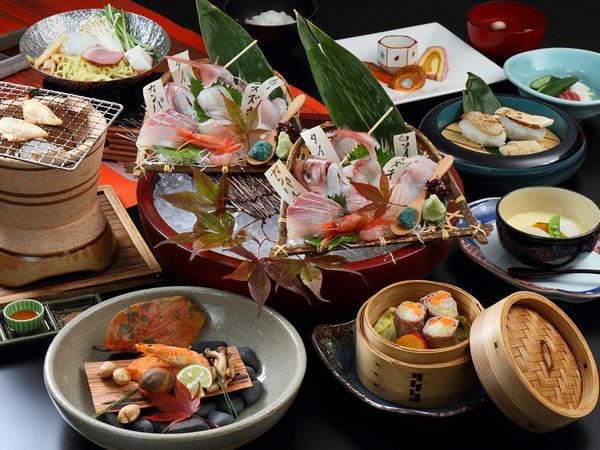 【スタンダード】 『丸ごとおもてなし』 料理長おすすめ!きときと地魚♪特典付