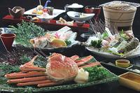 【冬至福】 『まるごとおもてなし』 蟹1杯+のどぐろ1尾+地魚盛り合せ+加賀野菜♪