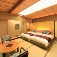 ツインベッド付客室【和室10畳】バス/温水洗浄トイレ付