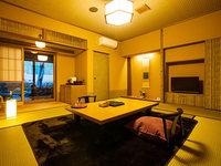 母屋 和室10畳 露天風呂付き客室