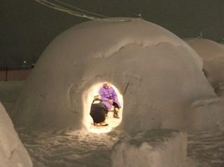 「かまくらまつり」雪国体験 宿泊プラン