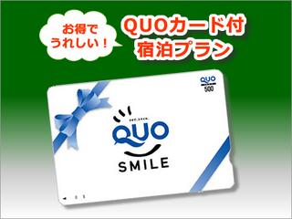 【ビジネスマン御用達☆】QUOカード1000円分付プラン☆シングルBタイプ〜甲府駅前ホテル