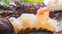 【選べるグルメ】イカ活造り&伊勢エビが付いた贅沢会席!さらに「鮑」or「佐賀牛」お好みをチョイス♪
