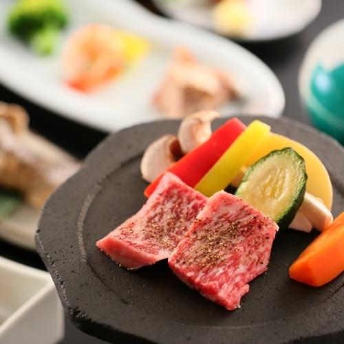 【泡の湯会席】メインは選べる石焼料理 ■大自然の中でにごり湯を愉しむ基本プラン■