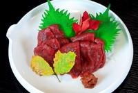 【通常料金から感謝の35%引!】冬季限定・桜鍋・馬刺しプラン