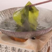 【旬到来♪】桜鯛と伊万里牛のセイロ蒸し会席〜春採りの新わかめと糸島野菜を添えて〜