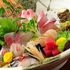 地元鮮魚店より直送!豊穣♪日本海の舟盛付会席♪
