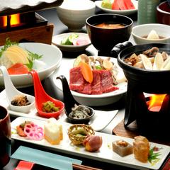 【人気No.1】源泉100%掛け流し!美味しい山形グルメを満喫♪「蔵王山懐膳プラン」