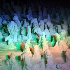 【幻想的な冬の風物詩を観賞】無料送迎あり♪樹氷ライトアップ鑑賞券付プラン<蔵王山懐膳>