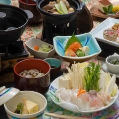 【寒い季節はお鍋がオススメ!】山形牛や海鮮メインの全5種類から選べる!冬のあったかお鍋プラン
