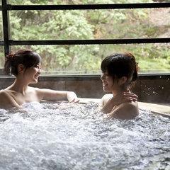 連泊はダブルでお得♪温泉湯めぐり&ブッフェ(バイキング)連泊だから♪の〜んびり聚楽でリゾートステイ