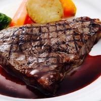 【山形牛ディナー】夕食は山形牛ステーキセットの洋食ディナーを♪(朝食バイキング付)