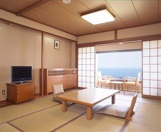 太平洋一望の和室又は和洋室【夕食絶景部屋食】■禁煙■
