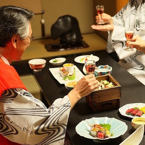 豆陽亭/還暦など節目の記念日に家族の祝宴【和食会席膳 祝膳】夕食・個室利用