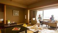 ■<豆陽亭>ウエルカムベビーの客室 露天風呂付和室12.5畳