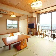 【海側の和室12帖】海一望のお部屋確約♪広い12帖のお部屋