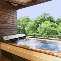 ◆露天風呂付客室◆自然の恵み♪あらき美肌の湯とミキモトの真珠から生まれた整肌成分配合のアメニティー