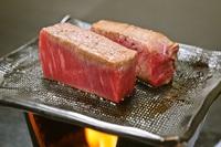 「料理ハイグレードプラン」 どちらも愉しめる米沢牛のステーキと鮑ステーキ 贅沢会席プラン
