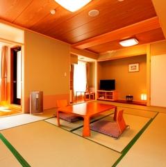 【函館山側】 露天風呂付客室 (和室12畳) ■足湯付■