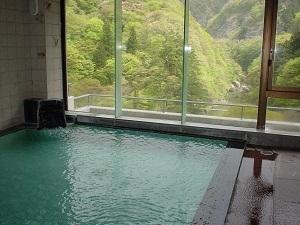【源泉掛け流し】四季を眺めながらお気軽に温泉を楽しむ