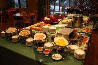 さき楽【別館セミダブル】〜カップル・親子にもおすすめ!中庭の見えるレストランで優雅にご朝食!〜