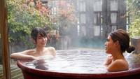 【人気の貸切露天風呂付】プライベート空間をひとりじめ〇食事処おまかせ