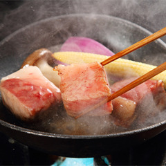 【選べるメイン会席】「のどぐろの塩焼き」or「島根和牛ステーキ」チョイス!