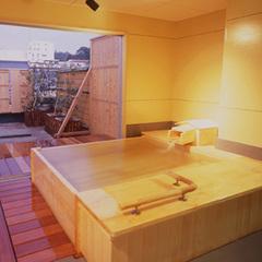 【人気の貸切露天風呂付】女性色浴衣×巨大まがたまを眺めてご夕食◆和風ダイニング「出雲」◆