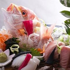 【日本海鮮魚会席】姿造り4種盛り×のどぐろの塩焼き×その日一番の煮付け