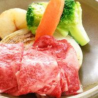 【楽天スーパーSALE】5%OFF<2食付>那須高原牛の陶板焼き・心尽くしの会席のご夕食♪