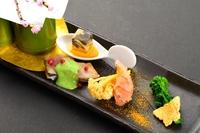 【1番人気!】ミシュラン料理人の技を堪能する「スタンダード会席 花コース」