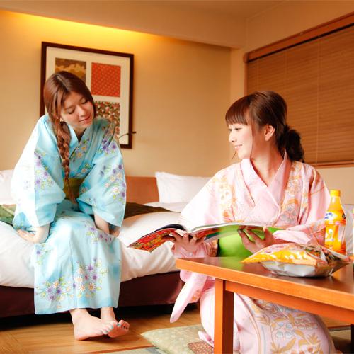 【お泊り女子会】和モダン和洋室〜こんぴら温泉ガールズトークプラン
