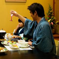 【個室でゆっくりご夕食】基本会席プラン(〜9/30)
