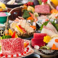 【4月5月限定】手作りラスクプレゼント♪レストランスタンダード〜メイン鉄板焼牛又は魚介からチョイス♪