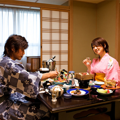 【個室食スタンダード】旬の食材を使った四季彩基本会席プラン(〜9/30)